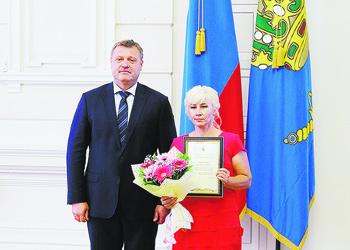 Награждения Миронова